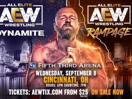 AEW Dynamite/Rampage Cincinnati Tickets On-Sale Now