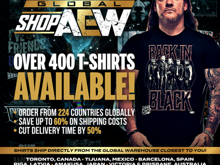 AEW Launches Global Online Shop For Official Apparel