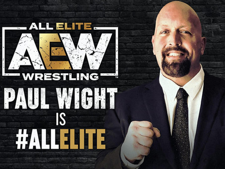 Wrestling Legend Paul Wight Signs Long-Term Deal with AEW