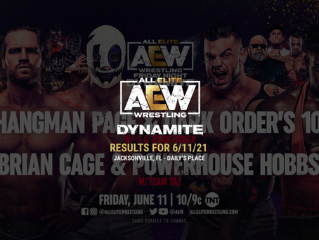 AEW Dynamite Results for June 11, 2021