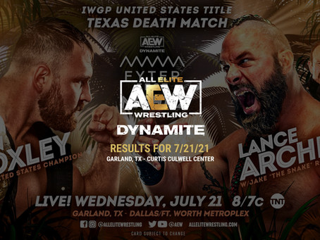 AEW Dynamite Results for July 21, 2021