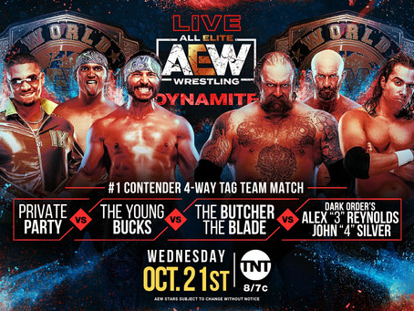 AEW Dynamite Preview for October 21, 2020