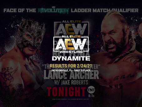 AEW Dynamite Results for February 24, 2021