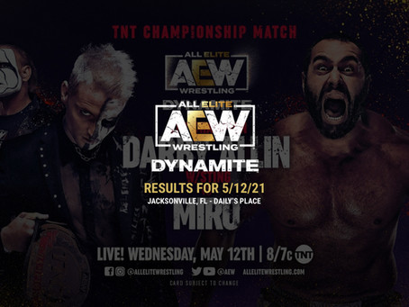 AEW Dynamite Results for May 12, 2021