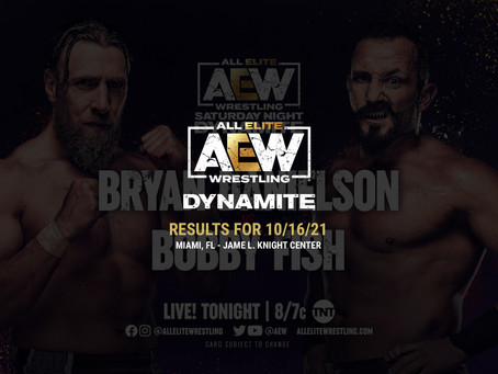 AEW Dynamite Results for October 16, 2021