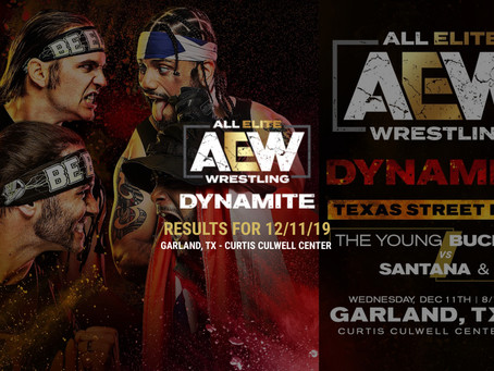 AEW DYNAMITE Results December 11, 2019