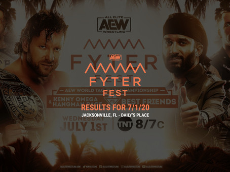 AEW DYNAMITE (FYTER FEST: NIGHT 1) Results for July 1st, 2020