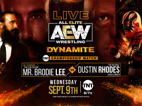 AEW Dynamite Preview for September 9, 2020