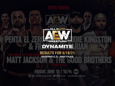 AEW Dynamite Results for June 18, 2021