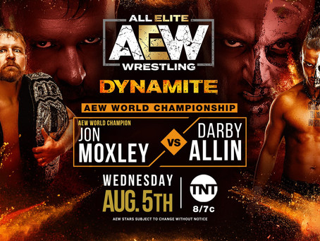 AEW Dynamite Preview for August 5, 2020
