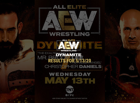AEW DYNAMITE Results for May 13, 2020