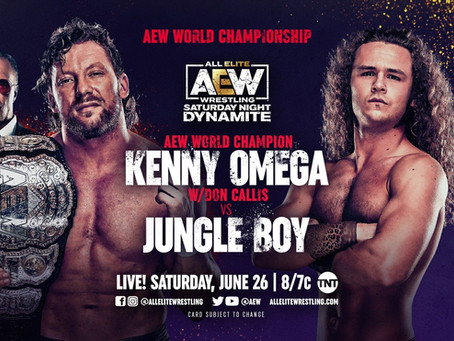 AEW Saturday Night Dynamite Preview for June 26, 2021