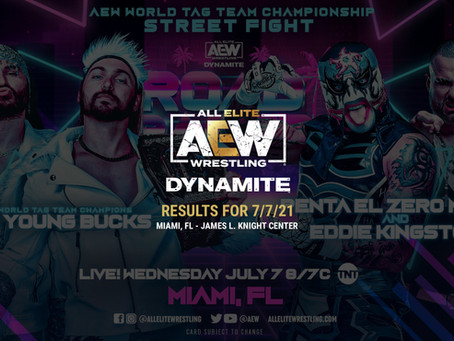AEW Dynamite Results for July 7, 2021