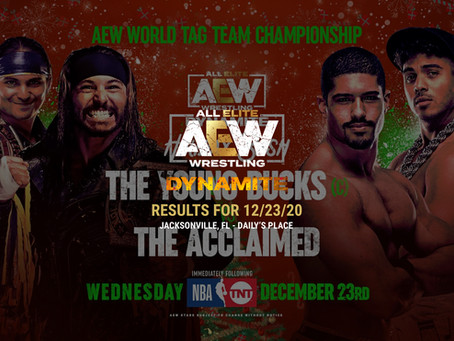 AEW Dynamite Holiday Bash Results for December 23, 2020