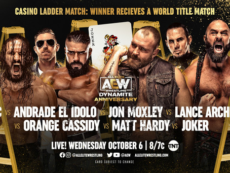 AEW Dynamite Results for October 6, 2021