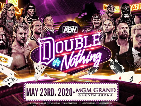 AEW Double or Nothing Will Return To Las Vegas May 23rd