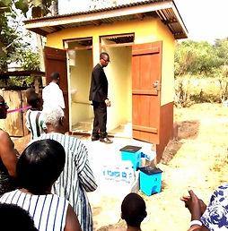 Heart for Human Development's Microflush Toilet in Volta Region, Ghana