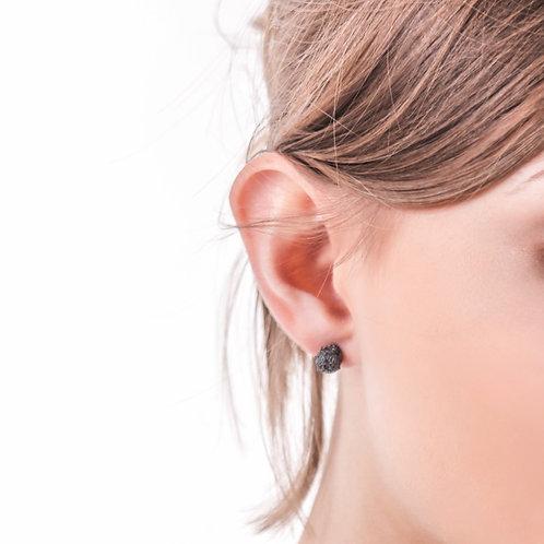 Oxidised studs earrings