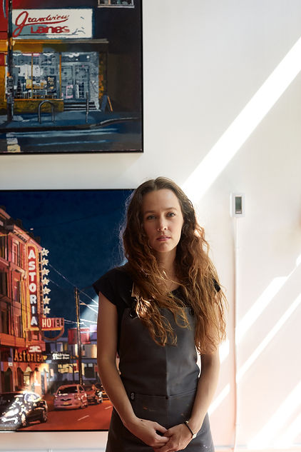 Emilie Fantuz Contemporary Canadian Female Artist