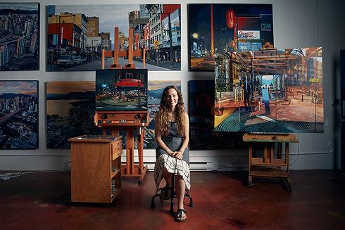 Emilie Fantuz Vancouver Contemporary Art Studio
