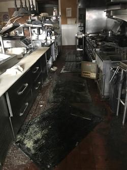 Kitchen Fire Damage Before