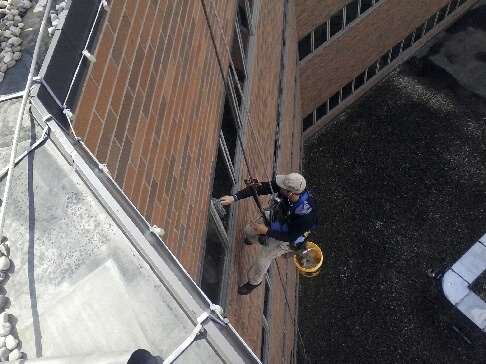 Highrise Window Cleaning Michigan