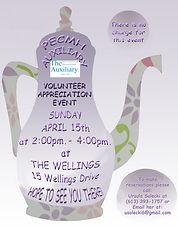 Volunteer Appreciation Event April 15, 2