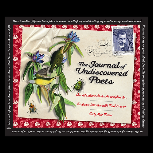 The Journal of Undiscovered Poets, Issue Two