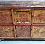 Mongolian Cabinet with 6 Doors