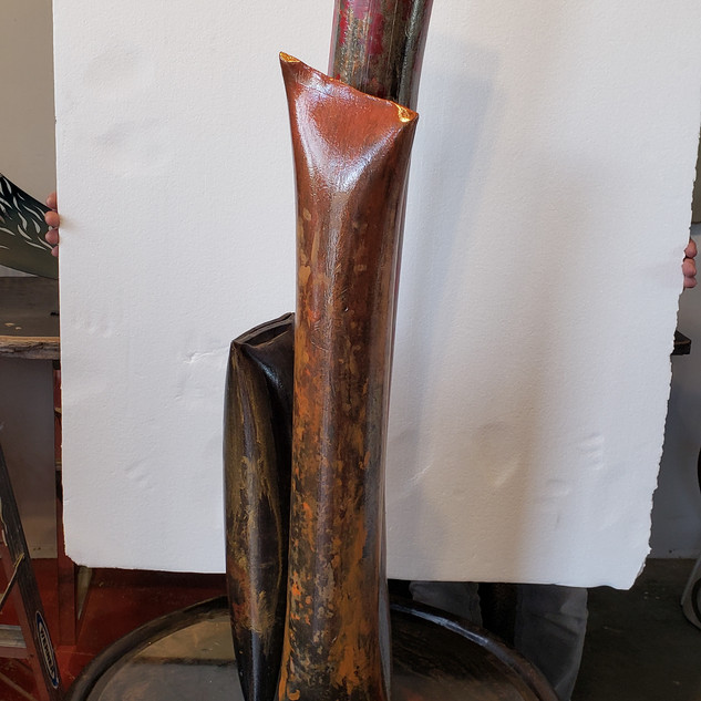 3 Metal Pipes