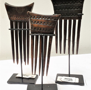 Bale Combs from Ivory Coast