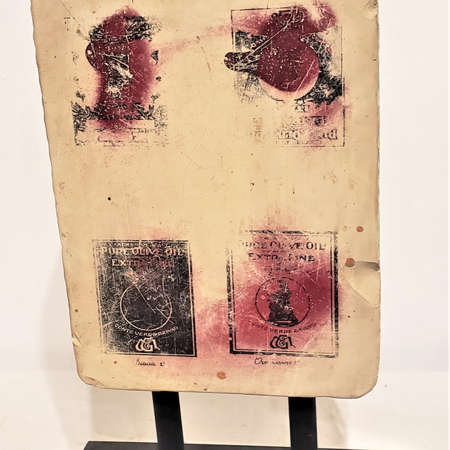 Antique French Printing Block II