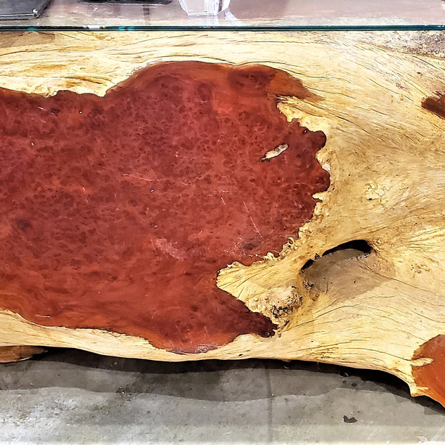 Teak Wood Console or Coffee Table