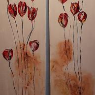 Poppies I & II