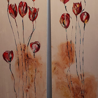Poppies I & II