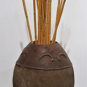 African Granary Pot