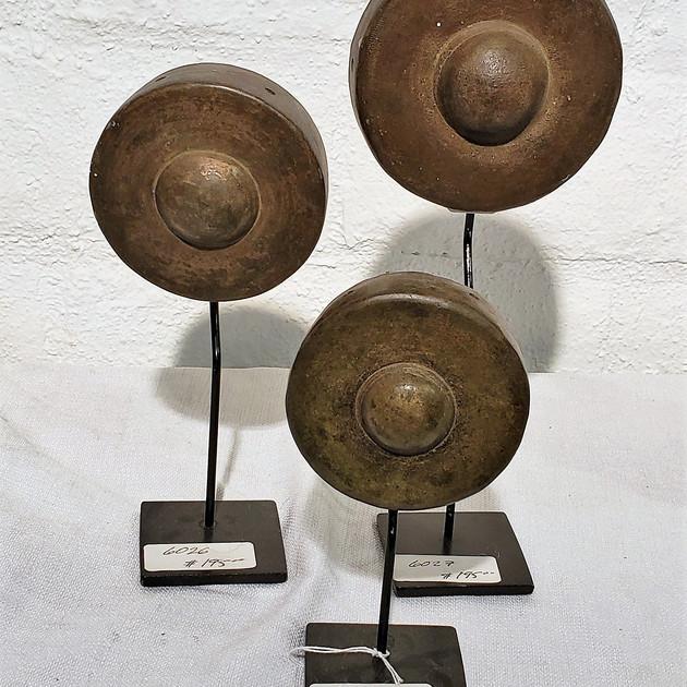 Antique Minature Gongs