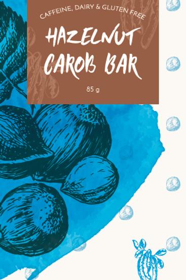 Hazelnut Vegan Carob Bar 85g