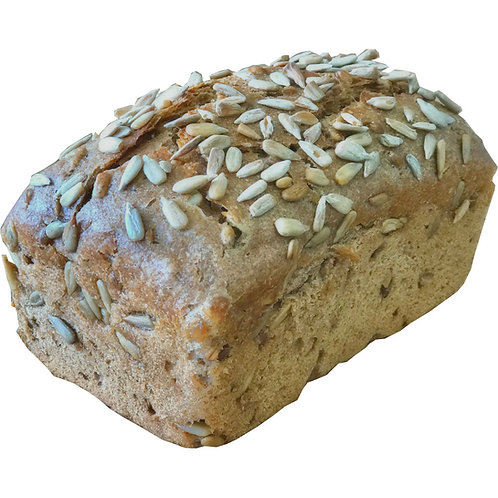 Organic Sprouted Sourdough Wheat with Sunflower Seeds