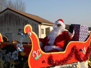 Le Père Noël était à Villepreux une nouvelle fois