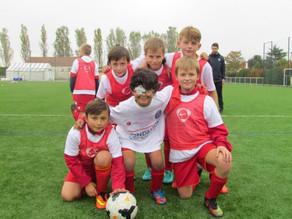 Une journée de rêve pour les jeunes footeux