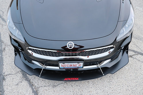 (Dealer) Aerotekk Front Track Splitter for 19+ Kia Stinger