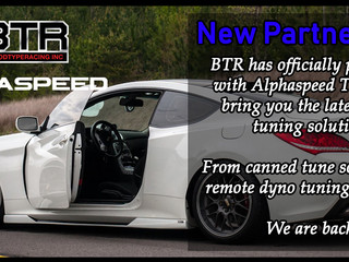 New Partnership with Alphaspeed Tuning