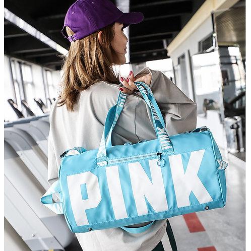 """Blue """"Pink"""" Bag"""