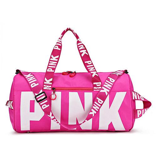 """Hot """"Pink"""" Duffel Bag"""