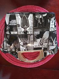 B&W Michelle Handbag -Half Moon