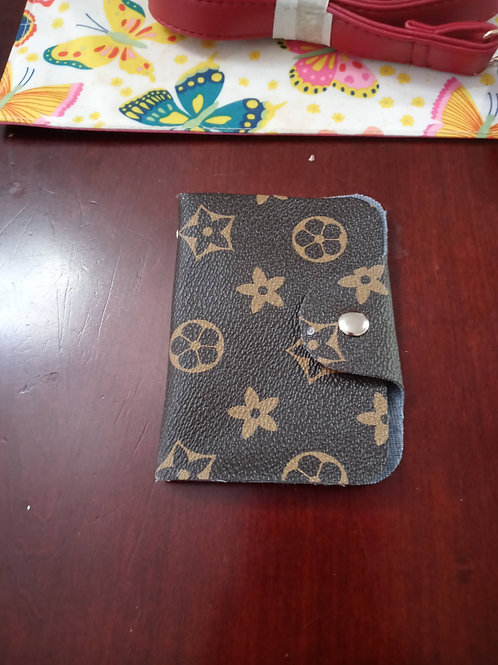 """Flower""  Pattern Fashion Designer ID Holder"