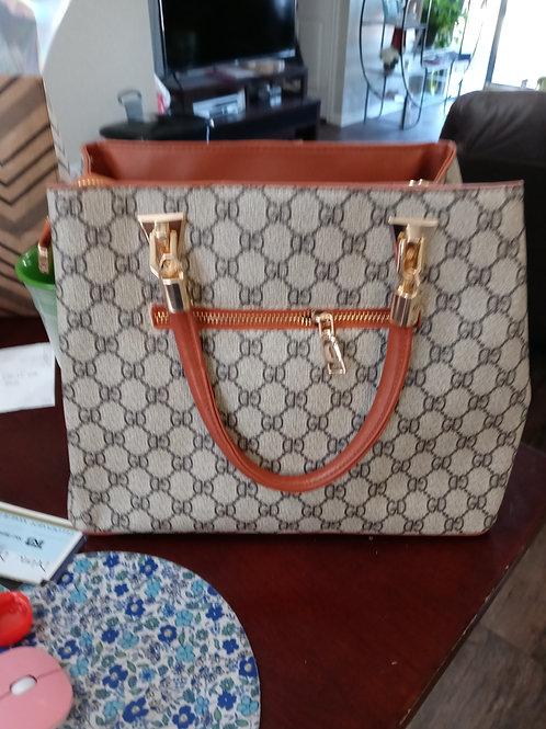 "Toffee ""GD""  Fashion Designer Handbag"