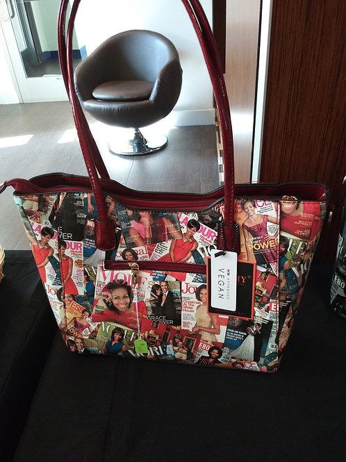 Large Michelle Handbag - Red
