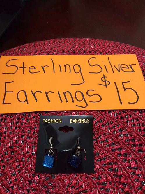 Sterling Silver Wire Earring